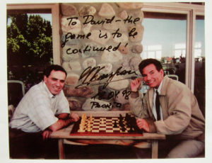 Kasparov and David